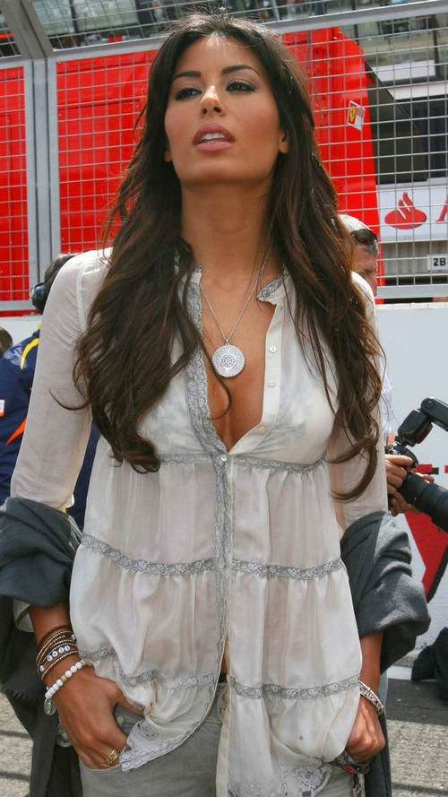 Briatore's model wife pregnant
