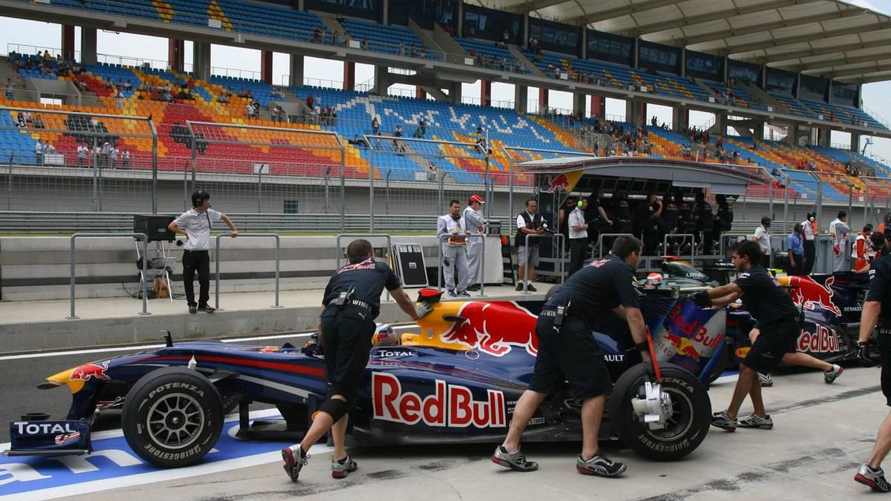 Sebastian Vettel (GER), Red Bull Racing and Mark Webber (AUS), Red Bull Racing, Turkish Grand Prix, 29.05.2010 Istanbul, Turkey