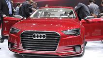 Audi A3 sedan concept live in Geneva - 01.03.2011