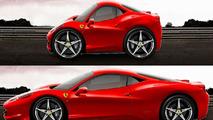 The supercar Shrinker - Ferrari 458 Italia