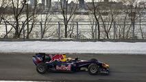 Sebastien Buemi drove Red Bull in icy Canada [Video]