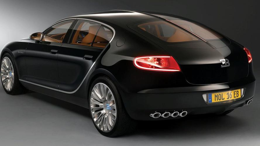 Bugatti to develop a luxury sedan based on Audi A8 - new 16C Galibier?