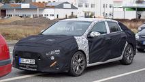 2018 Hyundai i30 Fastback spy photo