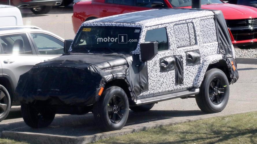 Jeep Wrangler Roof Spy Photos