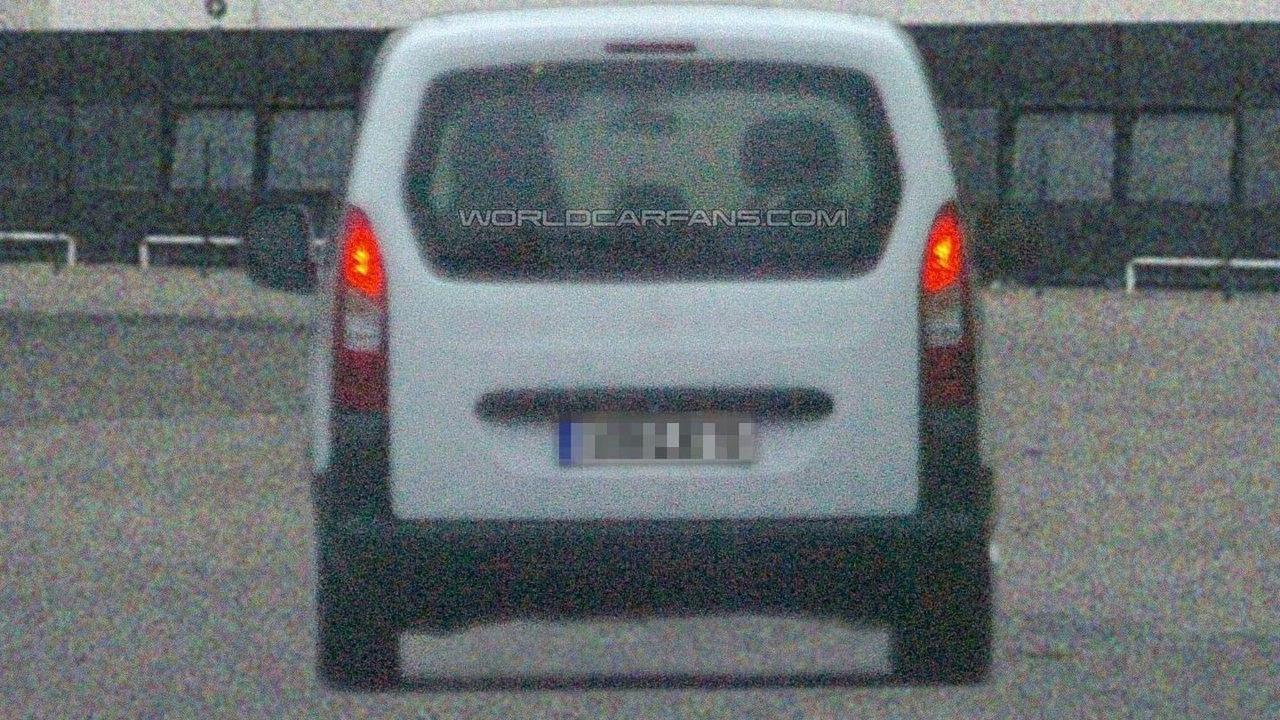Citroen Berlingo Spied Undisguised