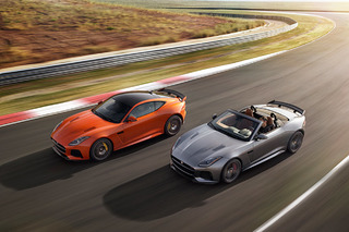 The 2017 Jaguar F-Type SVR is Officially a 200MPH Rocket