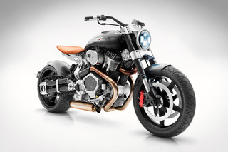 Confederate X132 Hellcat Speedster: Art on Two Wheels