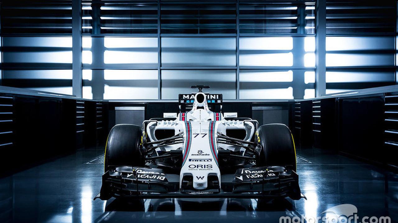 Valtteri Bottas, Williams FW38 livery