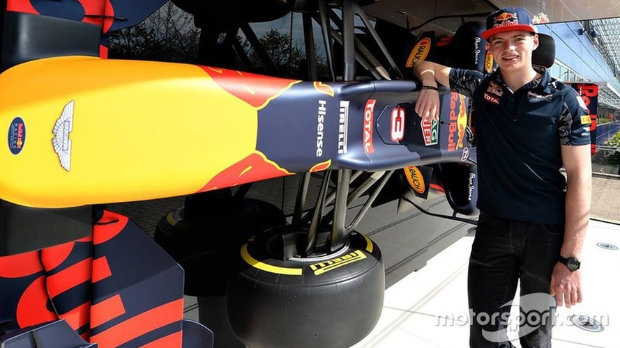 """Verstappen """"hasn't slept for three nights"""" ahead of Red Bull F1 debut"""