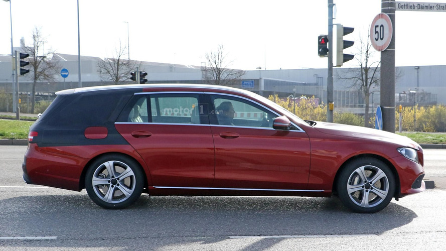 2017 Mercedes E-Class Estate to debut on June 6?