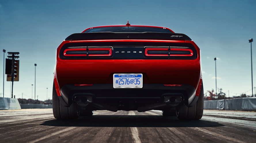 The 2018 Dodge Challenger SRT Demon's 215-pound diet