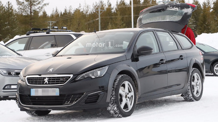 2018 Peugeot 508 spy photos