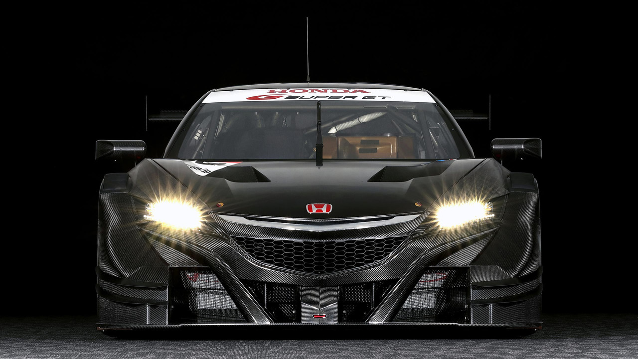 Honda Nsx Price >> Mean-looking Honda NSX-GT ready for battle in Super GT series