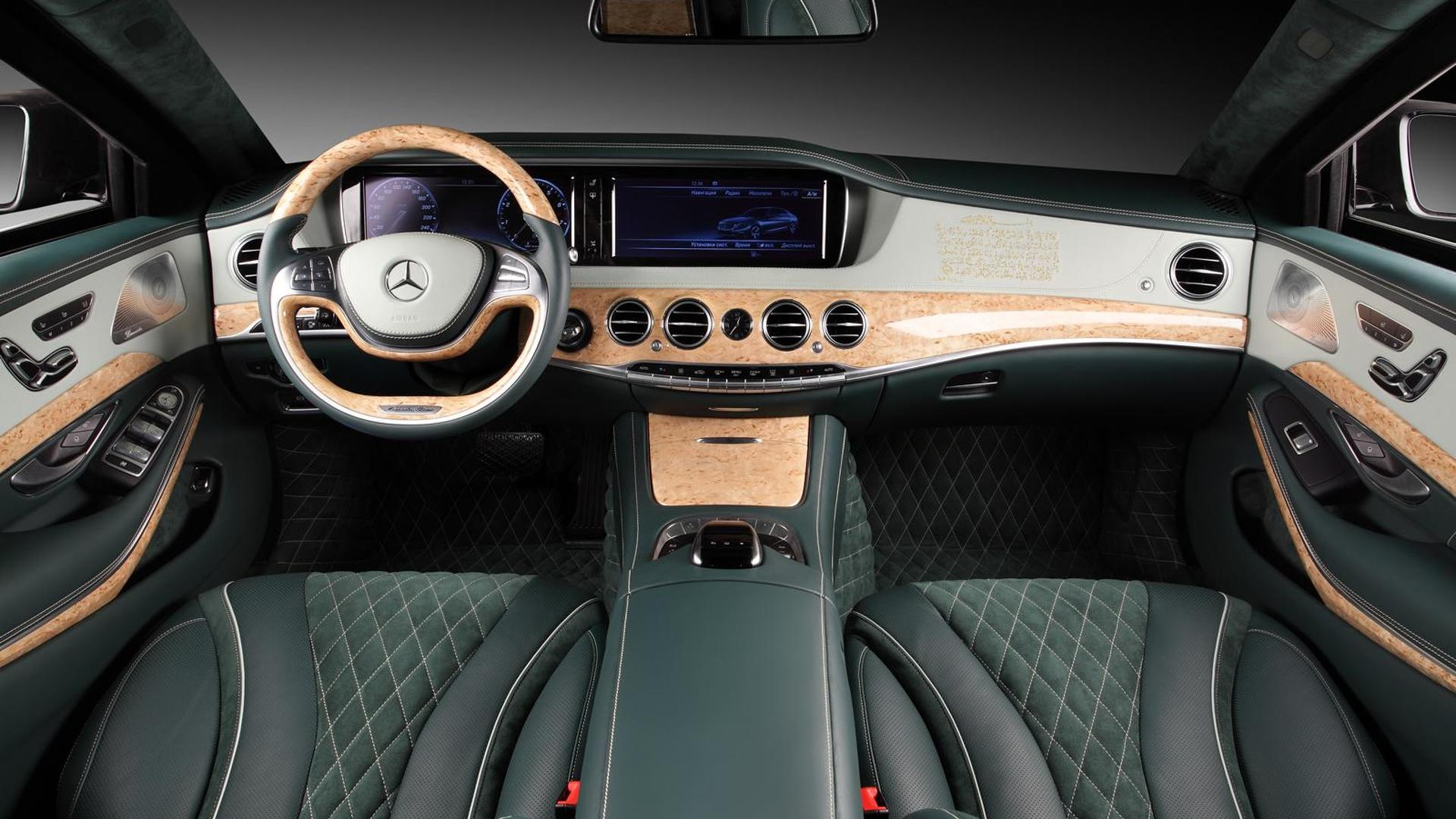 2014 Mercedes-Benz S600 Guard interior cabin tweaked by TopCar