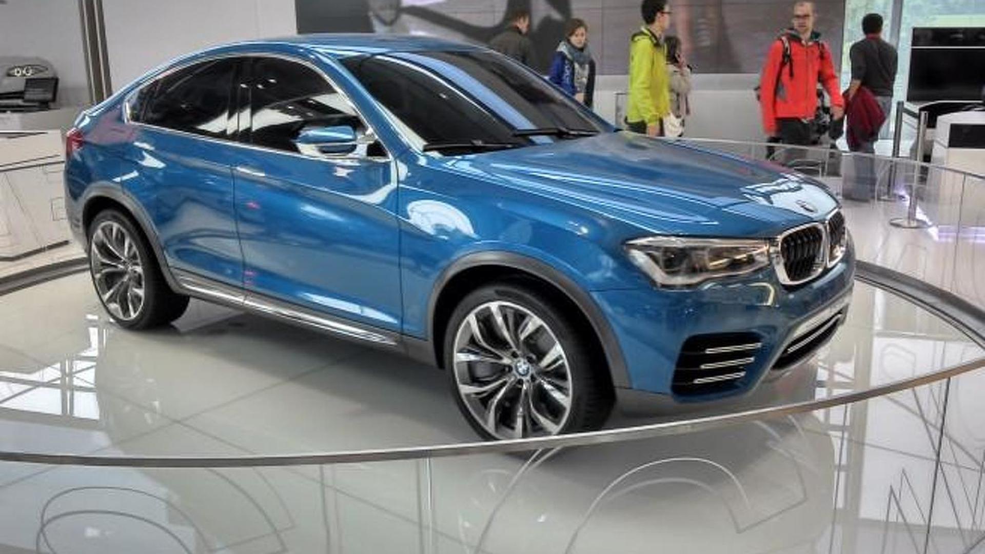Diesel BMW X4 M Performance considered