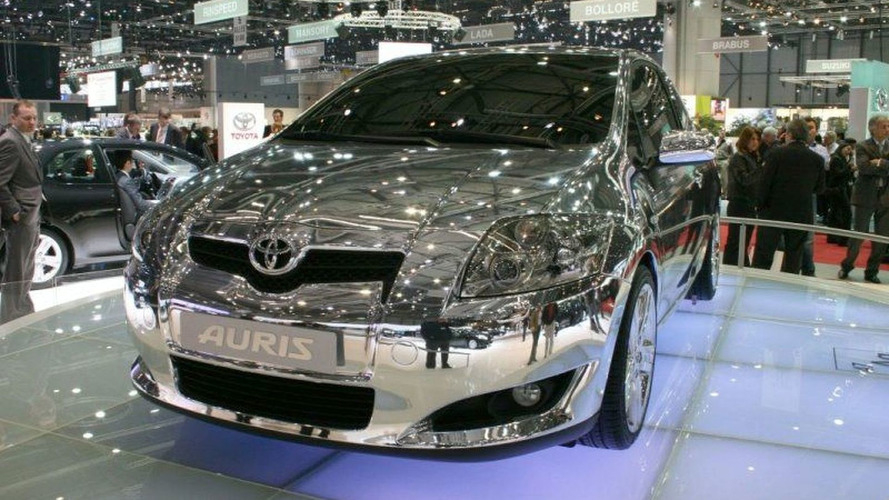 Geneva Motor Show: Toyota Auris Show Car - Hows my hair look?