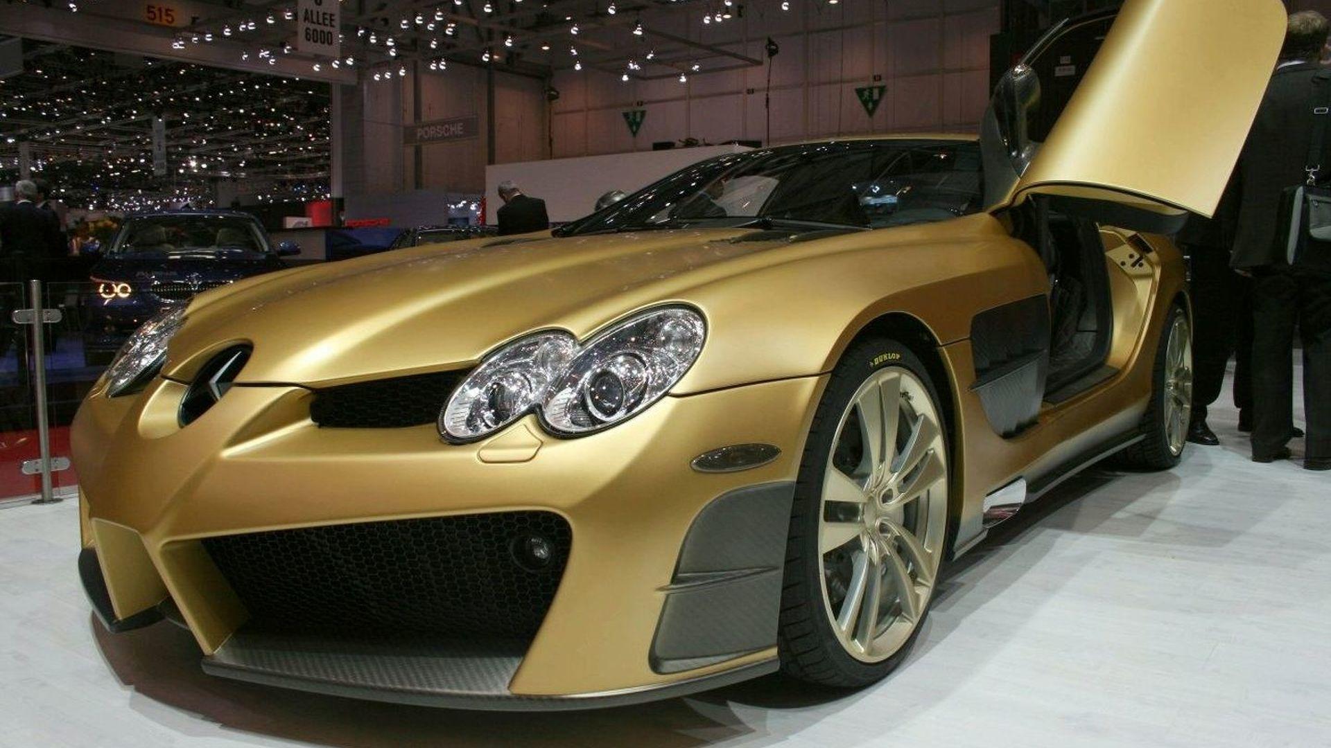 MANSORY Renovatio based on Mercedes-Benz Mclaren SLR