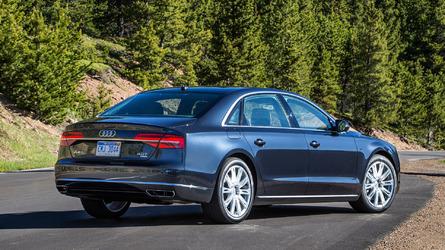 Audi A8, BMW 7 Series, and Mercedes-Benz S-Class