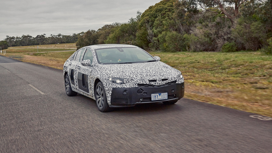 2018 Holden Commodore teaser
