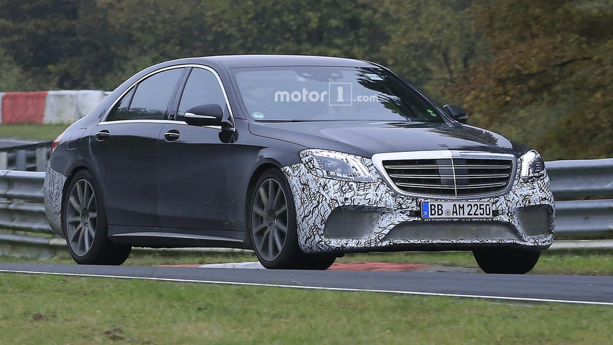 Mercedes-AMG S63 Sedan heads to the Nurburgring gym