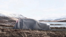 Volvo teases V90 Cross Country under a sheet