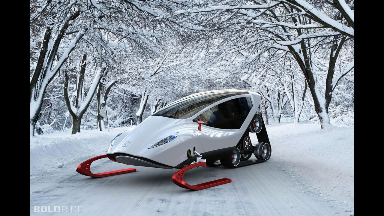 Snow Crawler Concept by Michael Bonikowski