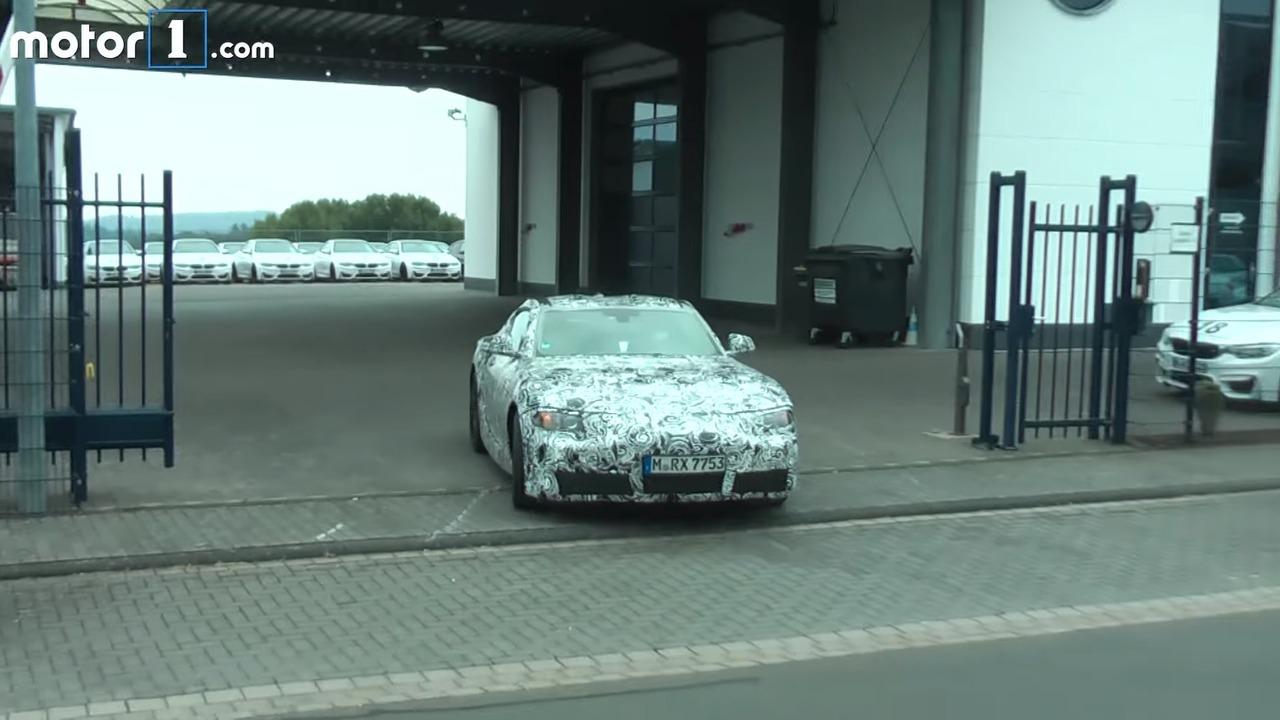 2018 Toyota Supra screenshot from spy video