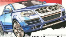 Volkswagen Robust Pick-Up Rendering