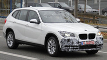 2013 BMW X1 Facelift spied for the first time