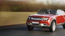 Land Rover Defender DC100 Sport Concept