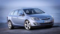 2011 Opel Astra Sports Tourer wagon revealed