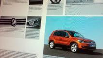 Volkswagen Tiguan facelift brochure picture leaked