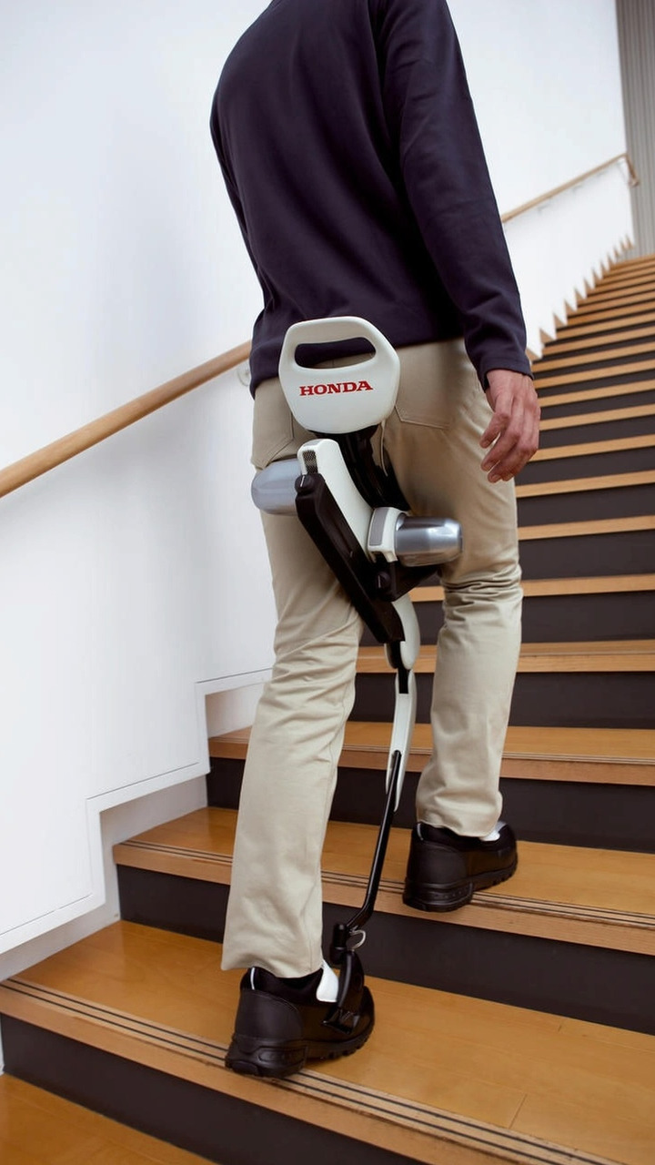 Honda Experimental Walking Assist Device