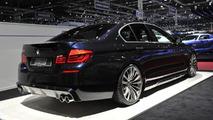 Kelleners BMW 5 Series M Sports Package live in Geneva
