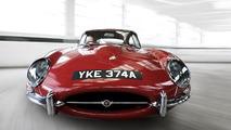 Jaguar E-Type will turn 50 in Geneva