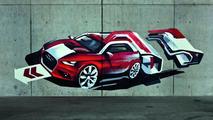 Audi A1 StreetArt