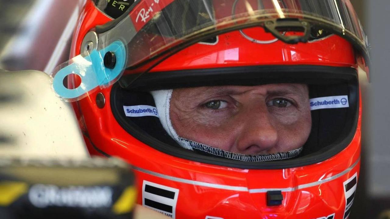 Michael Schumacher (GER), Mercedes GP - Formula 1 World Championship, Rd 14, Italian Grand Prix, Friday Practice, 10.09.2010 Monza, Italy