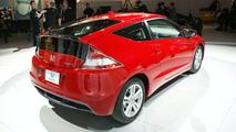 2011 Honda CR-Z Sport Hybrid Coupe Makes Production Debut in Detroit