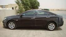 2011 Hyundai Sonata spied in Dubai by WCF reader