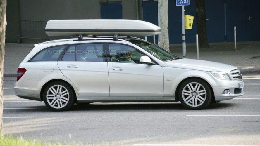 Mercedes C-Class Wagon Latest Spy Photos