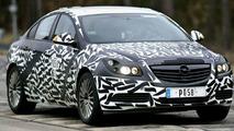 Opel sponsored Insignia Spy Photos