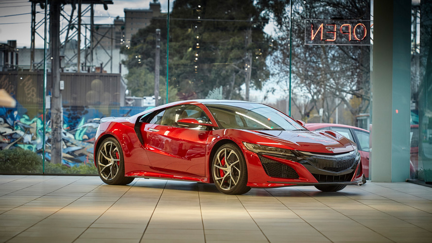 Honda NSX priced at $420,000 in Australia