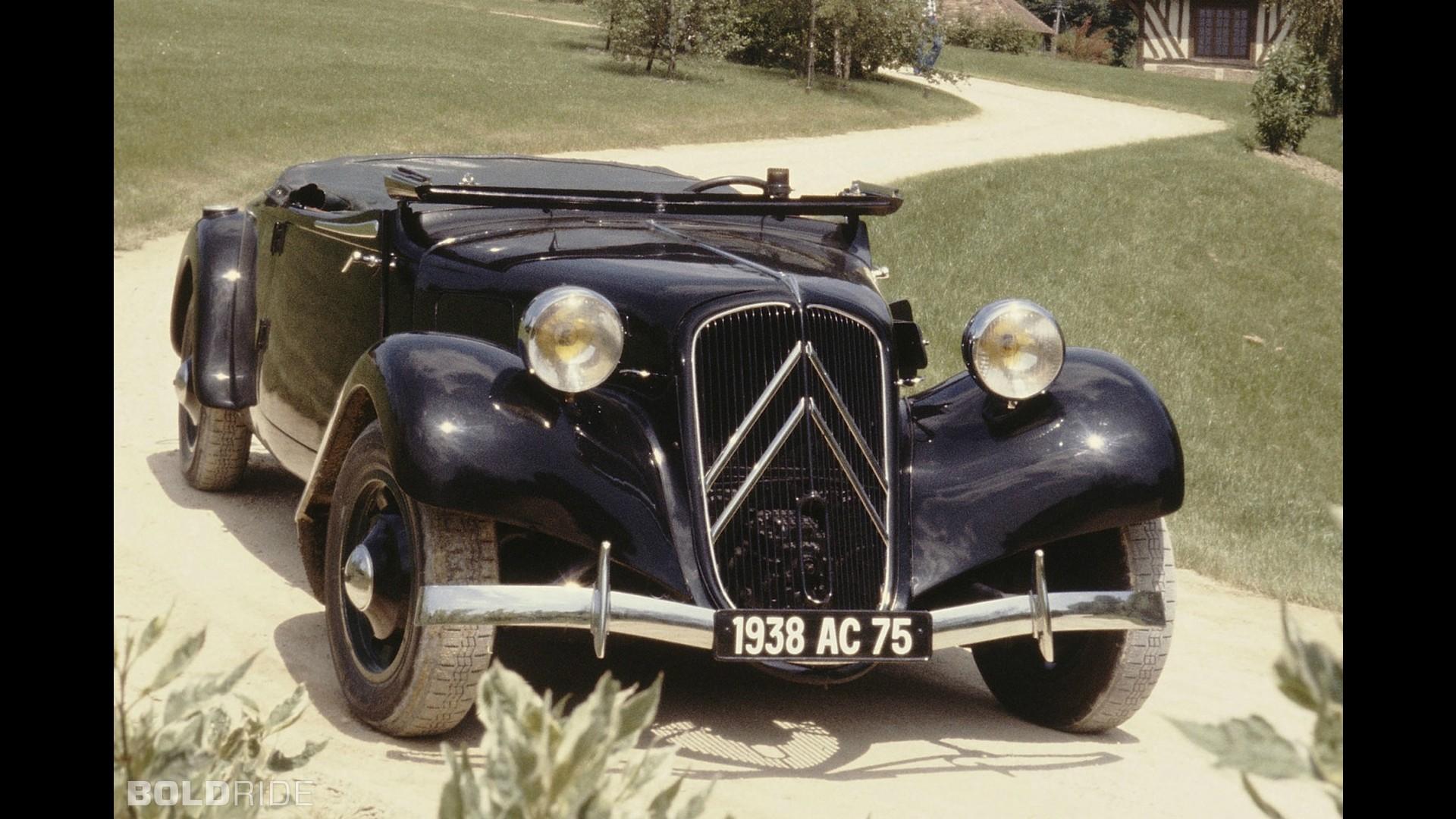 Citroen Traction Avant 11B Cabriolet