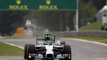 Titanium skids for safety, not sparks - FIA