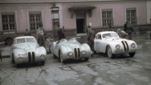 BMW celebrating the 40th anniversary of their first U.S. race win