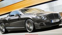 Bentley Continental GT Speed pick-up rendering / X Tomi