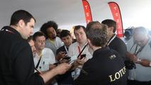 Lotus LMP P1/01 unveiled at Le Mans