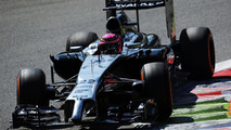 McLaren 'happy' to keep Button for 2015