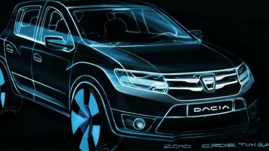 Dacia shows initial sketches for new Logan, Sandero, Sandero Stepway