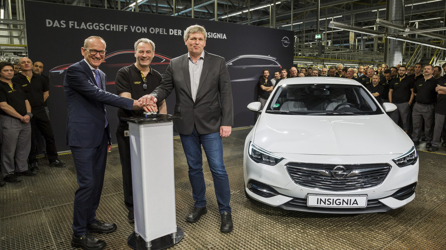 Opel Hits Start Button On 2017 Insignia Production